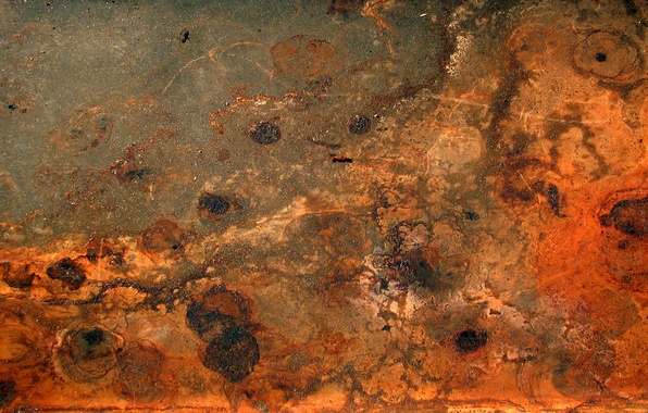 Picture metal, rust, red, texture