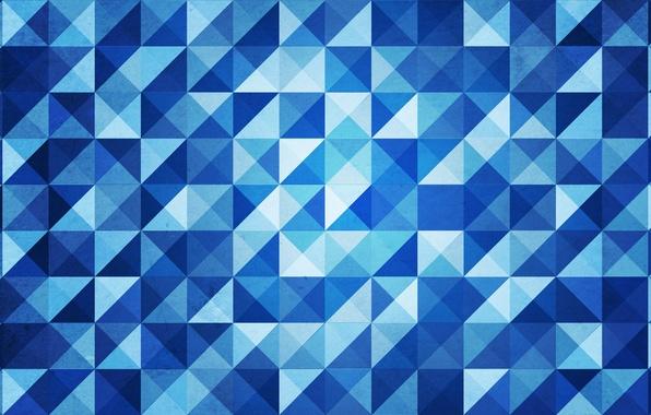 Picture triangles, corners, diamonds