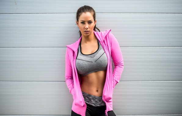 Picture look, fitness, sportswear, physical activity, healthy lifestyle, Janna Breslin