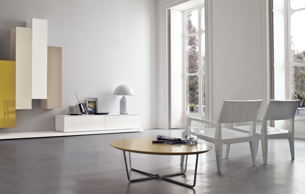 Picture white, yellow, design, table, furniture, interior, chair, white, design, yellow, modern, chair, modern, furniture