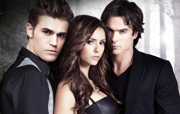 Picture the series, Nina Dobrev, Nina Dobrev, The Vampire Diaries, the vampire diaries, Ian Somerhalder, Stefan, ...