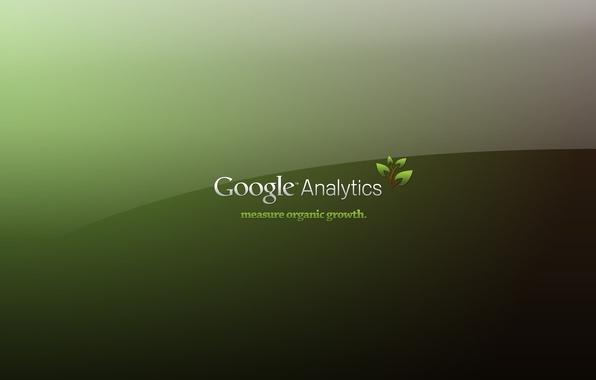 Picture green, the inscription, Google, Analytics, Computers, Google Analytics