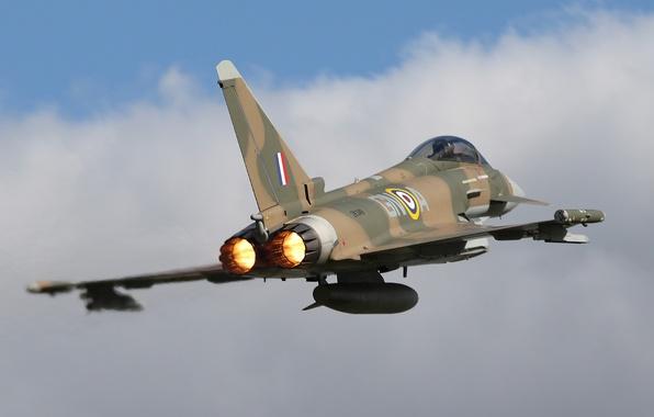 Picture fighter, flight, multipurpose, Eurofighter Typhoon, FGR4
