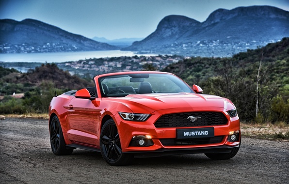 Picture Mustang, Ford, Mustang, convertible, Ford, Convertible