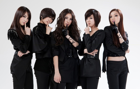 Picture music, Asian, Kpop, Black, Korean, Singers