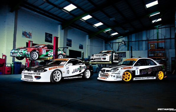 Picture auto, photo, garage, nissan, subaru