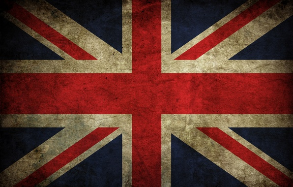 Picture color, flag, Britain