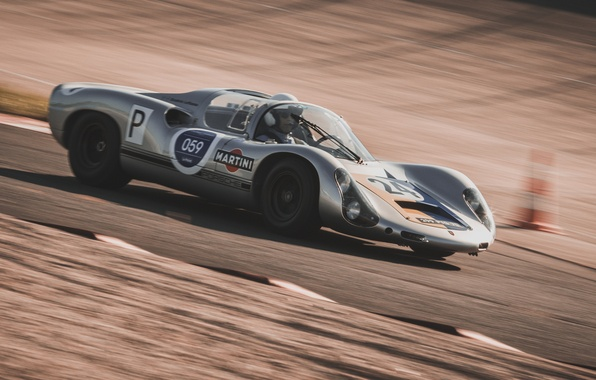 Photo wallpaper Porsche 910, speed, race, 1967