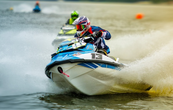 Picture race, jet ski, Jet Ski