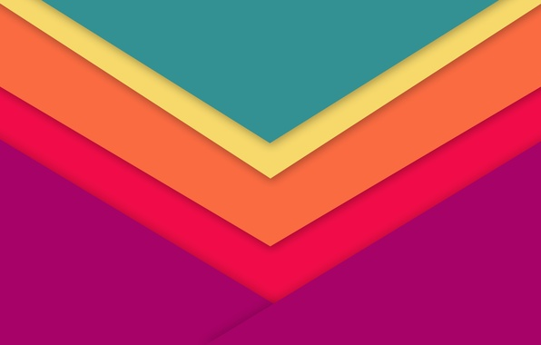 Picture Android, Design, 5.0, Lines, Lollipop, Material, Triangles, Angles, Abstractions