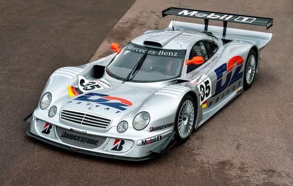 Picture Mercedes-Benz, GTR, Mercedes, AMG, Racing, AMG, 1997, CLK-Class