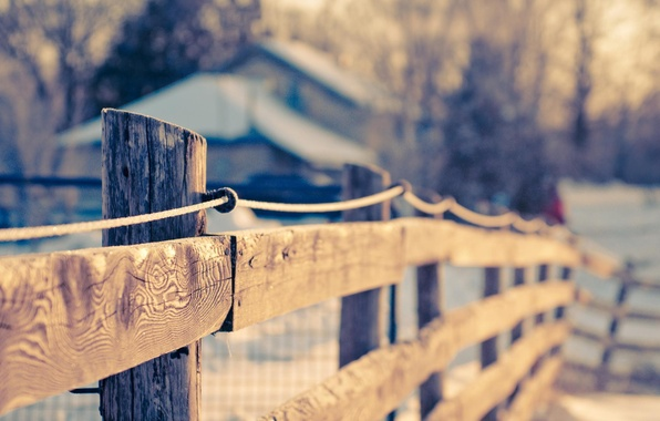 Picture macro, background, widescreen, Wallpaper, the fence, blur, the fence, wooden, wallpaper, widescreen, background, full screen, …