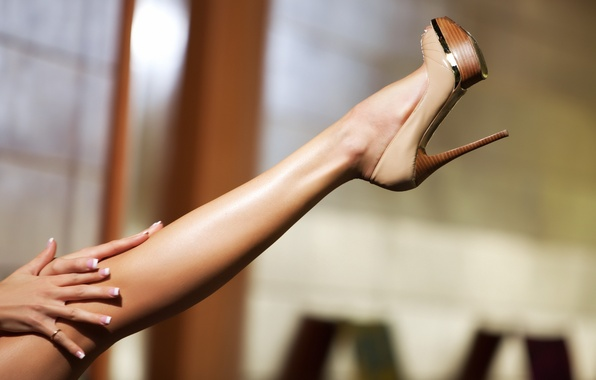 Picture shoes, slim, ring, leg