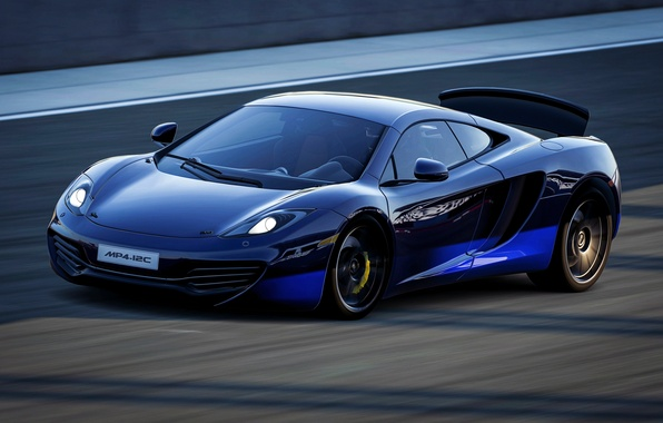 Picture McLaren, speed, MP4-12C