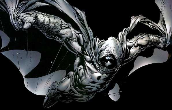 Picture bullets, black background, Marvel, comic, comics, Moon Knight, Moon Knight