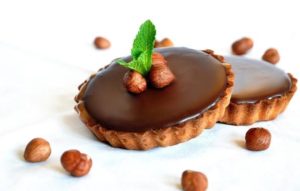 Picture food, chocolate, pie, dessert, sweet, chocolate, sweet, dessert, tart, hazelnut, hazelnut