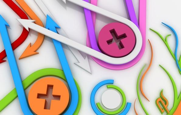 Picture line, vector, arrow, figure
