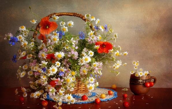 Picture flowers, bouquet, still life, flowers, still life, bouquet