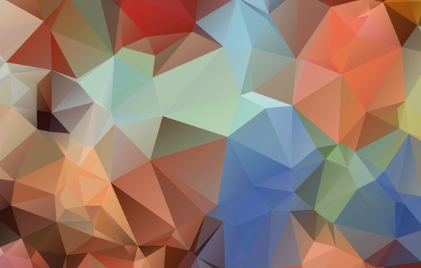 Picture light, color, pyramid, angle, geometry, face, triangle, relief