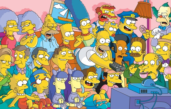 Picture The simpsons, The Simpsons, Homer Simpson, Springfield