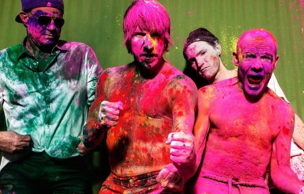 Picture Red Hot Chili Peppers, album, Anthony Kiedis, Michael Balzary, Flea, John Frusciante, Chad Smith, The …