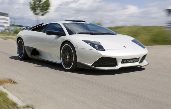 Picture road, speed, Lamborghini, Lambo, supercar, Hamann, Murcielago, LP640