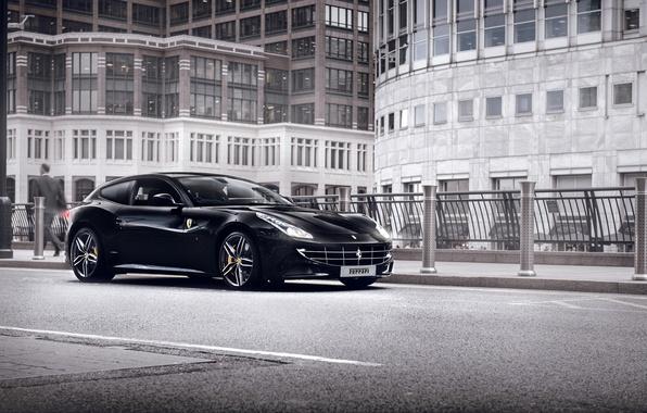 Picture the city, street, Ferrari, Ferrari FF