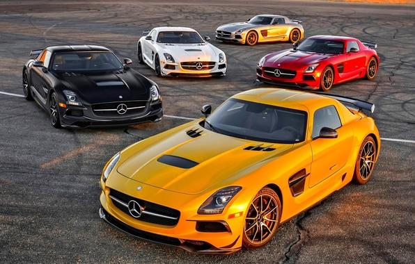 Picture Mercedes-Benz, AMG, SLS, Black Series