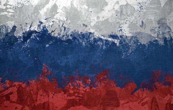 Picture flag, Russia, tricolor, russia