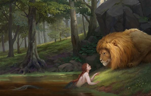 Picture Nature, Mermaid, Leo, Fiction