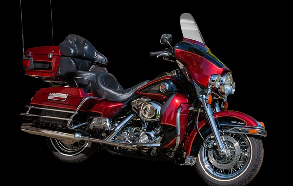 Picture style, motorcycle, bike, Harley-Davidson