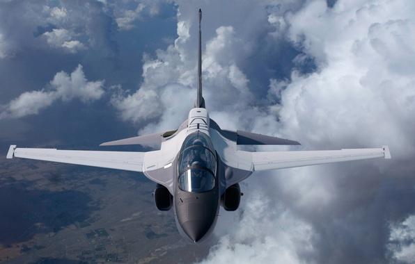 Picture flight, the plane, Lockheed Martin, combat training, T-50A