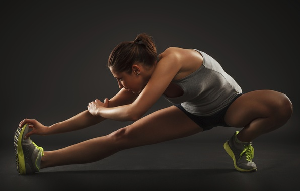 Picture athletes, elongation, runner