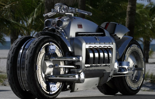 Picture future, chopper, moto