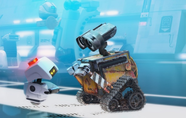 Picture cartoon, dirt, walle