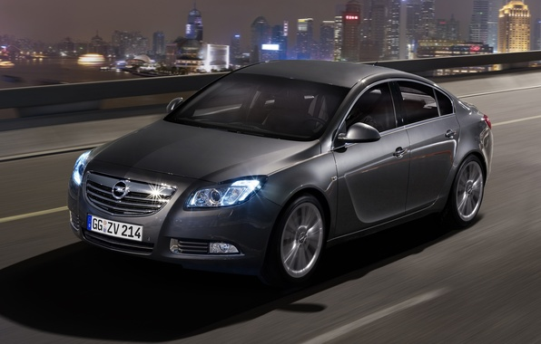 Picture night, Insignia, Opel