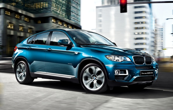Picture Machine, Blue, BMW, Car, 2012, Car, Bmw X6, Wallpapers, New, Beautiful, Wallpaper, The front, xDrive35i