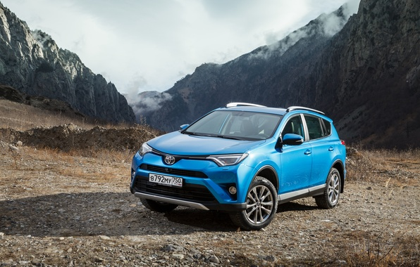 Photo wallpaper RAV4, crossover, Toyota, Toyota