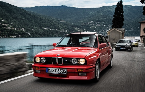 Picture BMW, coupe, BMW, Coupe, E30, 1986