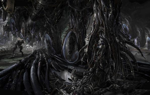 Picture worlds, aliens, Ryan Church