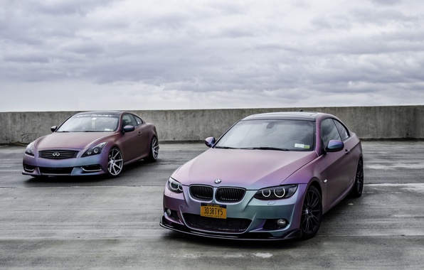 Picture BMW, Tuning, BMW, Infinity, Infiniti, 335i, E92, G37