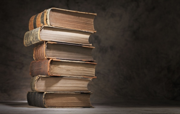 Picture macro, table, books, blur, stack, books, vintage, bokeh, chic, books, knowledge, wallpaper., tomes, and ignorance …