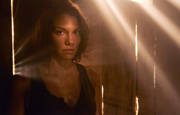 Picture Maggie, promo, The Walking Dead, Lauren Cohan, the fifth season