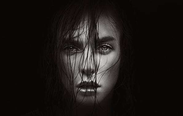 Picture look, portrait, curls, Vika, George Chernyadev, Victoria Vishnevskaya