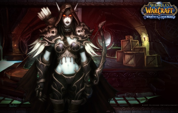 Picture figure, art, World of Warcraft, elf, wow