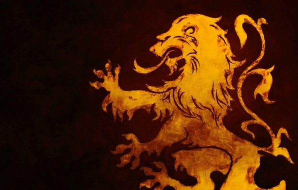 Picture red, logo, emblem, yellow, sign, symbol, Lion, shield, royal