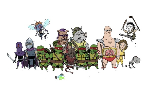 Picture Rafael, Krang, TMNT, Raphael, Leonardo, Donatello, Donatello, Leonardo, Splinter, Splinter, Michelangelo, Teenage Mutant Ninja Turtles, …