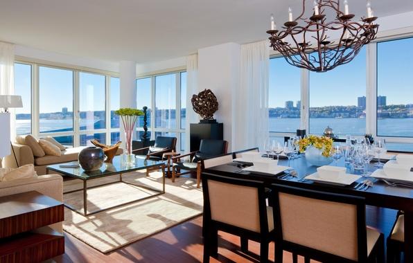 Picture design, style, room, interior, megapolis