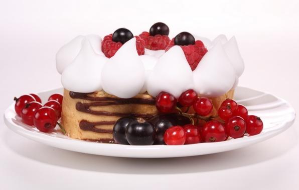 Picture berries, raspberry, food, blueberries, plate, cake, cake, cream, dessert, food, sweet, chocolate, sweet, 1920x1080, blueberry, …
