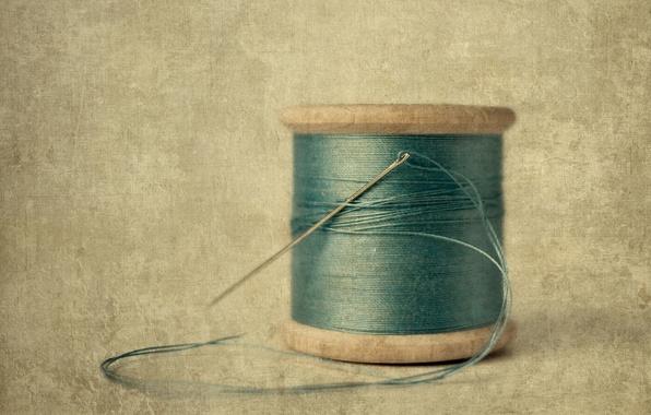 Picture macro, style, background, thread, needle